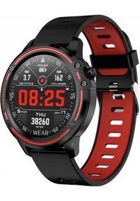 Smartwatch Microwear L8 Czerwony (L8 red). Rodzaj zegarka: smartwatch. Kolor: czerwony