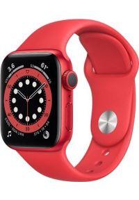 APPLE - Smartwatch Apple Watch Series 6 GPS 40mm Red Alu Red Sport Czerwony (M00A3WB/A). Rodzaj zegarka: smartwatch. Kolor: czerwony. Styl: sportowy