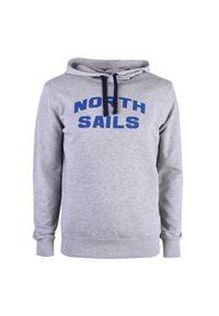 North Sails Bluza. Okazja: na co dzień. Typ kołnierza: kaptur. Materiał: bawełna. Wzór: aplikacja, nadruk. Styl: casual