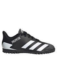 Adidas - Buty piłkarskie dla dzieci adidas Predator 20.4 TF Jr FW9223. Zapięcie: sznurówki. Materiał: syntetyk. Szerokość cholewki: normalna. Wzór: geometria. Sport: piłka nożna