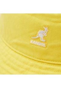 Kangol - Kapelusz KANGOL - Bucket Washed K4224HT Lemon Sorbet LS709. Kolor: żółty. Materiał: materiał, bawełna