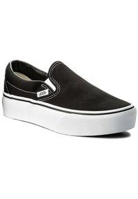 Czarne buty sportowe Vans Vans Classic