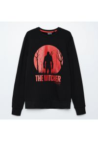 Cropp - Bluza The Witcher - Czarny. Kolor: czarny