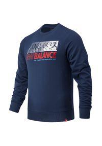 Bluza New Balance klasyczna, na co dzień, z klasycznym kołnierzykiem