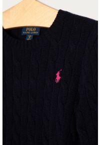 Niebieski sweter Polo Ralph Lauren polo, na co dzień