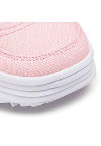Kappa - Sneakersy KAPPA - Rave Sun 242871 Rose/White 2110. Okazja: na co dzień. Kolor: różowy. Materiał: materiał. Szerokość cholewki: normalna. Sezon: lato. Obcas: na płaskiej podeszwie