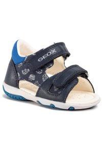 Geox Sandały B S.Elba B. A B02L8A 01054 C4226 Granatowy. Kolor: niebieski