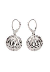 Polcarat Design - Srebrne kolczyki K 1130. Materiał: srebrne. Kolor: srebrny