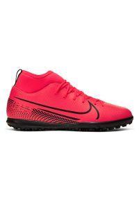 Buty piłkarskie turfy dla dzieci Nike Mercurial Superfly 7 Club AT8156. Materiał: syntetyk, guma, skóra. Szerokość cholewki: normalna. Sport: piłka nożna