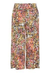 Cellbes Spodnie typu culotte z krepy kolorowy female ze wzorem 50/52. Materiał: materiał. Wzór: kolorowy