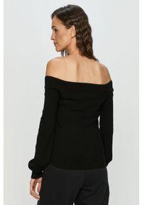 Czarny sweter TALLY WEIJL z długim rękawem, casualowy