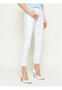 Białe jeansy Patrizia Pepe