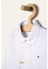 Biała koszula TOMMY HILFIGER elegancka, długa