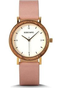 Różowy zegarek