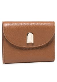 Brązowy portfel Furla