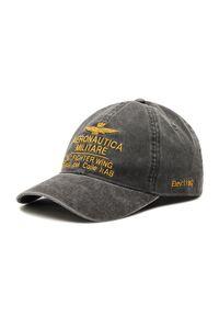Szara czapka z daszkiem Aeronautica Militare