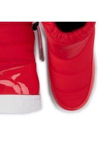 Czerwone kozaki Pepe Jeans