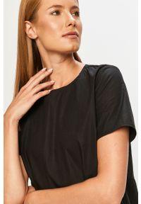 Czarna sukienka Noisy may mini, casualowa
