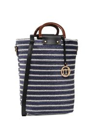 Niebieska torebka klasyczna Monnari klasyczna