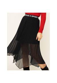 Czarna spódnica plisowana The Kooples