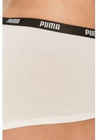 Białe majtki Puma z nadrukiem