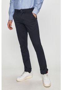 Niebieskie spodnie Napapijri na co dzień, casualowe