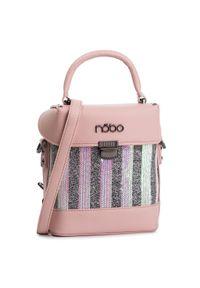 Różowa torebka klasyczna Nobo klasyczna
