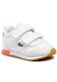 Lacoste Sneakersy Partner 0721 1 Sui 7-41SUI0012B53 Biały. Kolor: biały