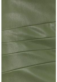 Guess - Spódnica. Kolor: zielony. Długość: długie
