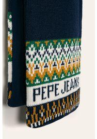 Niebieski szalik Pepe Jeans
