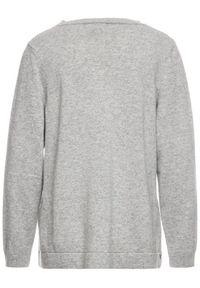 Szary sweter klasyczny Persona by Marina Rinaldi