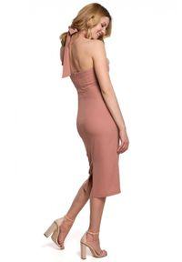 Sukienka koktajlowa ołówkowa, midi