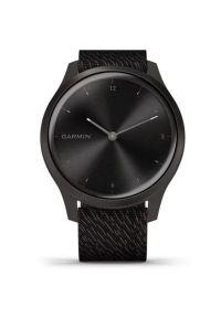 Czarny zegarek GARMIN sportowy, analogowy