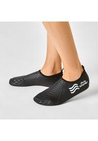 Czarne buty sportowe ProWater żeglarskie, z cholewką