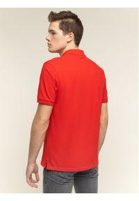 Czerwona koszulka polo BOSS polo