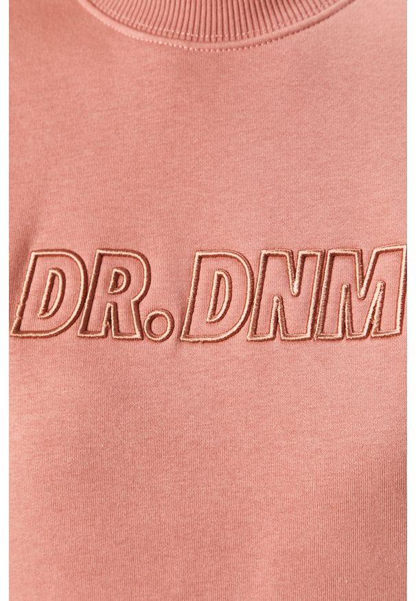 Bluza Dr. Denim bez kaptura, z aplikacjami