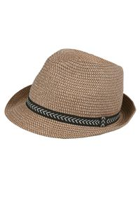 Beżowy kapelusz TOP SECRET