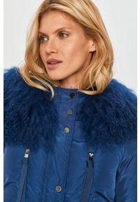 Niebieska kurtka MAX&Co. z kapturem