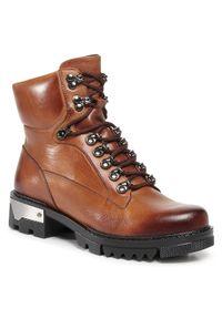 Brązowe buty trekkingowe Baldaccini