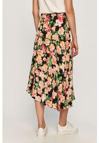 Różowa spódnica TALLY WEIJL w kwiaty, na co dzień, casualowa
