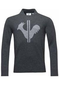 Rossignol - ROSSIGNOL Sweter Classique Round Neck heather grey