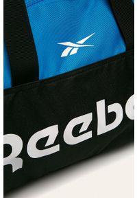 Niebieska torba Reebok z nadrukiem