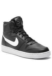 Czarne półbuty Nike na co dzień, z cholewką