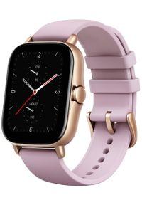 AMAZFIT - Amazfit smartwatch GTS 2e, Lilac Purple. Rodzaj zegarka: smartwatch. Kolor: różowy. Styl: elegancki, sportowy