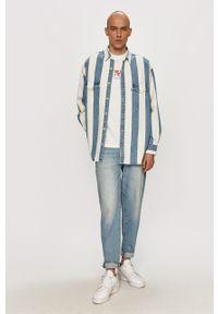 Niebieska koszula Levi's® długa, z klasycznym kołnierzykiem, z długim rękawem