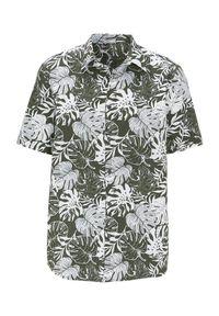 Zielona koszula Cellbes elegancka, krótka, z krótkim rękawem