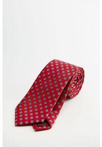 Czerwony krawat Mango Man #5