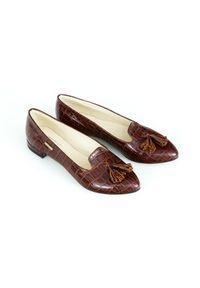 Baleriny Zapato w kolorowe wzory, bez zapięcia, klasyczne