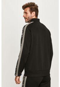 Czarna bluza rozpinana G-Star RAW z aplikacjami, na co dzień, casualowa