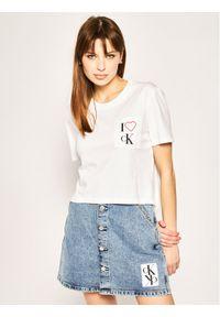 Biały t-shirt Calvin Klein Jeans #5